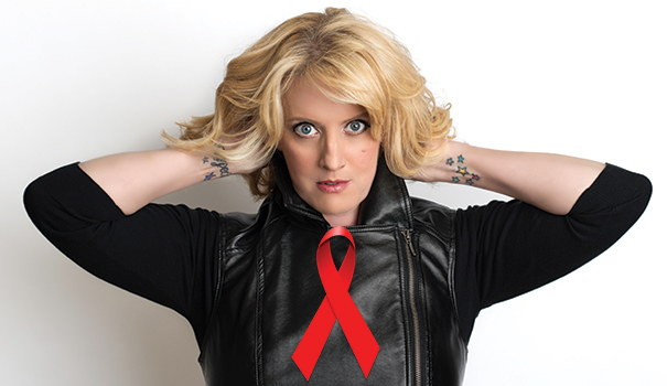 Suzanne Westenhoefer performing at San Diego AIDS Memorial Benefit Concert