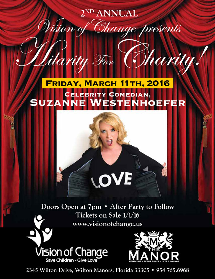 2nd Annual Hilarity for Charity!